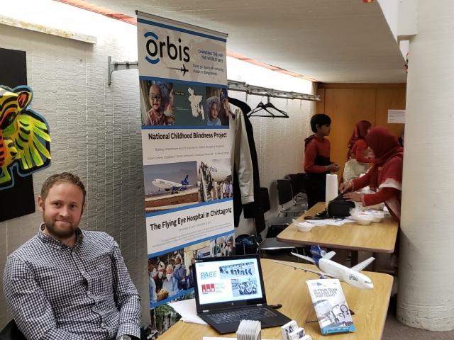 Petter Maddox, ORBIS Canada representative