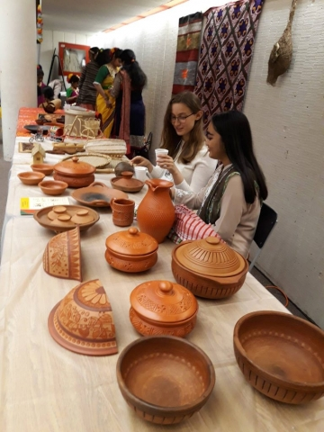 Display of traditional items