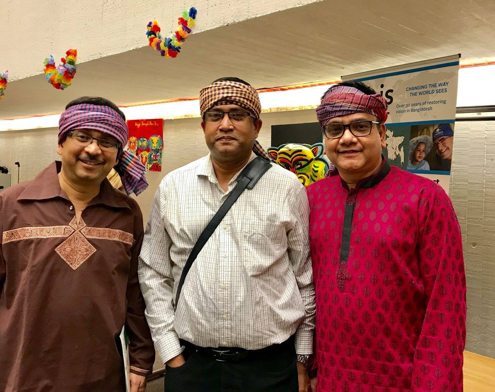 A few board members - Abu Mohsin, Arif Sohel & Rezwan Ahmed